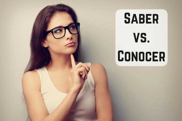 Teaching Saber vs. Conocer